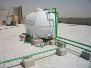 لحام خزانات المياه