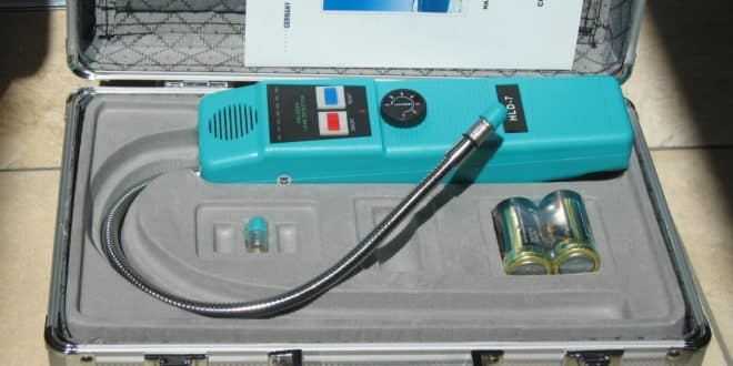 كشف تسربات الغاز بالرياض